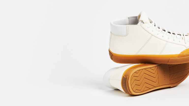 GREATS Introduces The Wooster Mid Sneaker