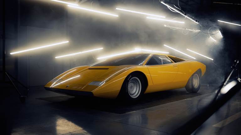 A Lost, Legendary Lamborghini Prototype Is Back from the Dead