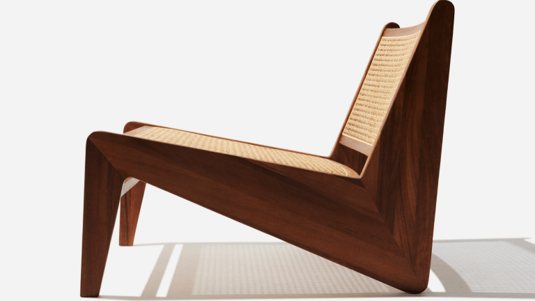 This Rattan Lounge Chair Will Complete Your Modern Aesthetic