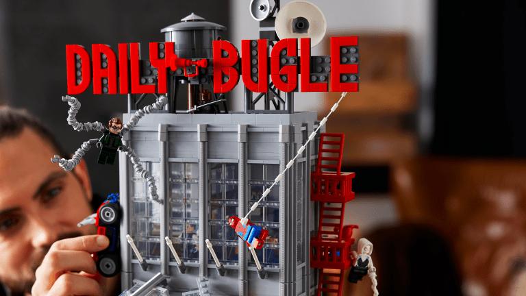 LEGO x Marvel Link Up for Massive Spider-Man Set