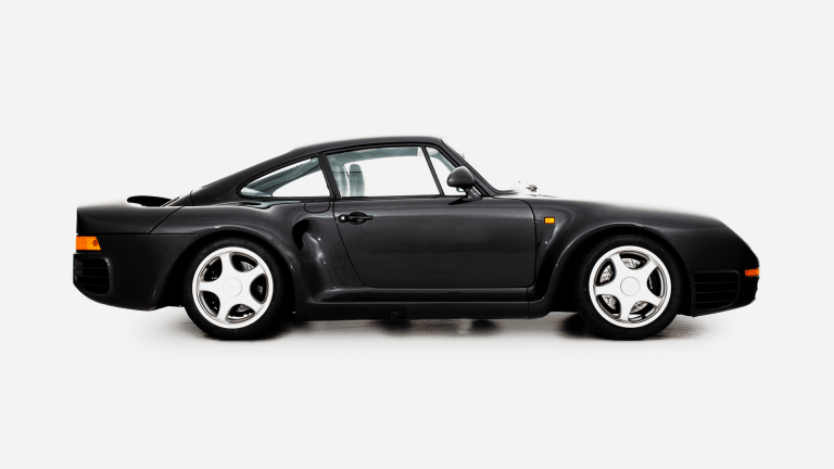 Car Porn: 1987 Porsche 959 Komfort