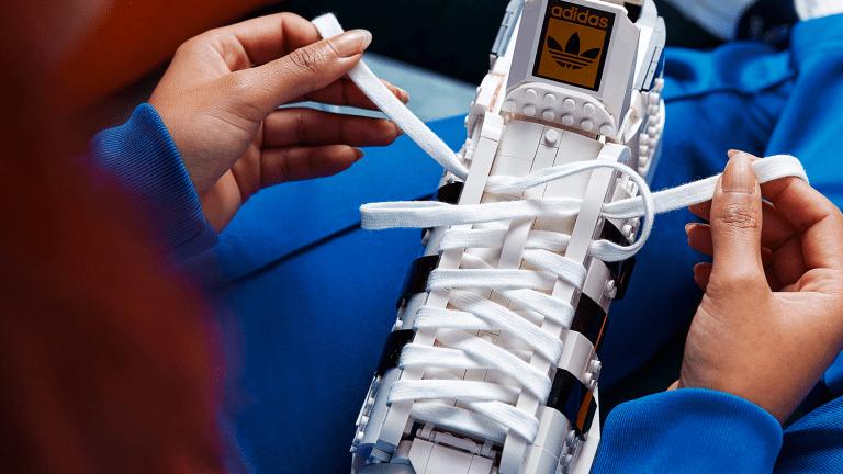 LEGO Reveals Upcoming adidas Originals Superstar Build