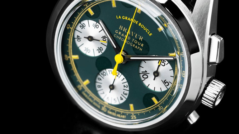 Bravur Honors the Tour De France With New Chronograph