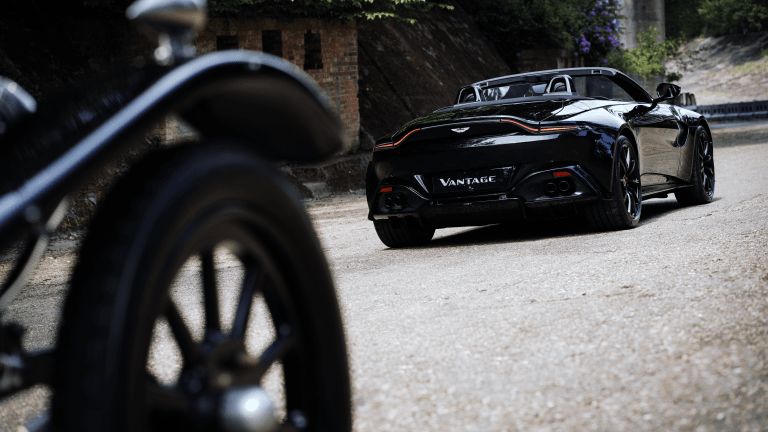Aston Martin Looks to the Past With Its Latest Special Edition Vantage Roadster