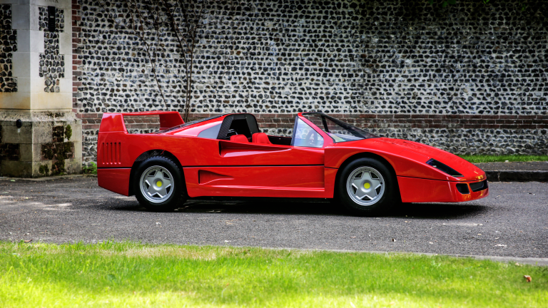 We See Your Hot Wheels Set and Raise You This Ferrari-Inspired Children's Car