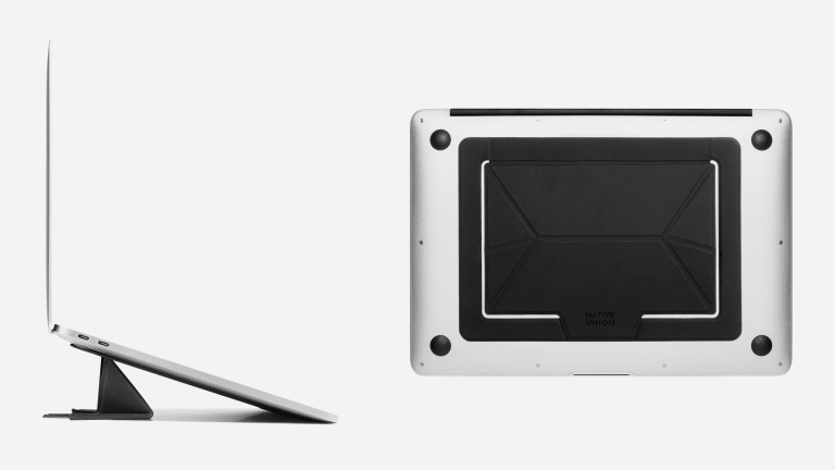 Native Union Streamlines the Laptop Stand With a Foldable Design