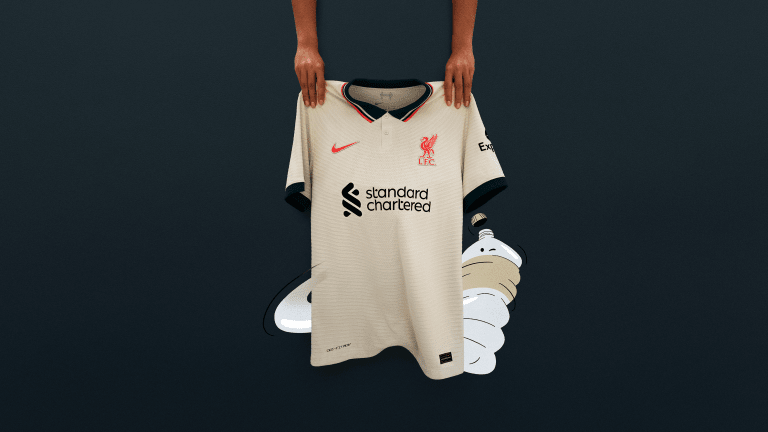 Liverpool Unleashes a Throwback Away Jersey for 2021/22 Season