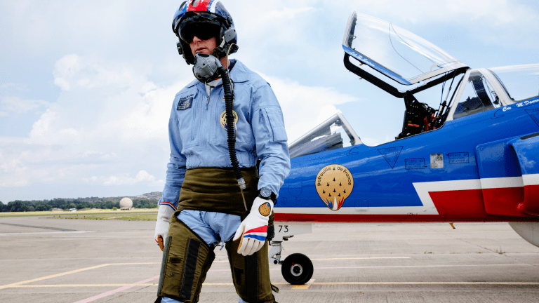 Bell & Ross Honors the Patrouille de France With Stunning Ceramic Chronograph
