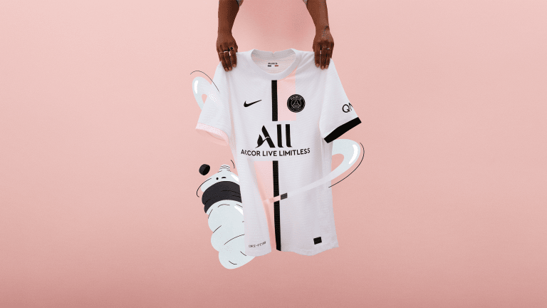 Nike x Paris Saint-Germain Reveal 2021/22 Away Jersey