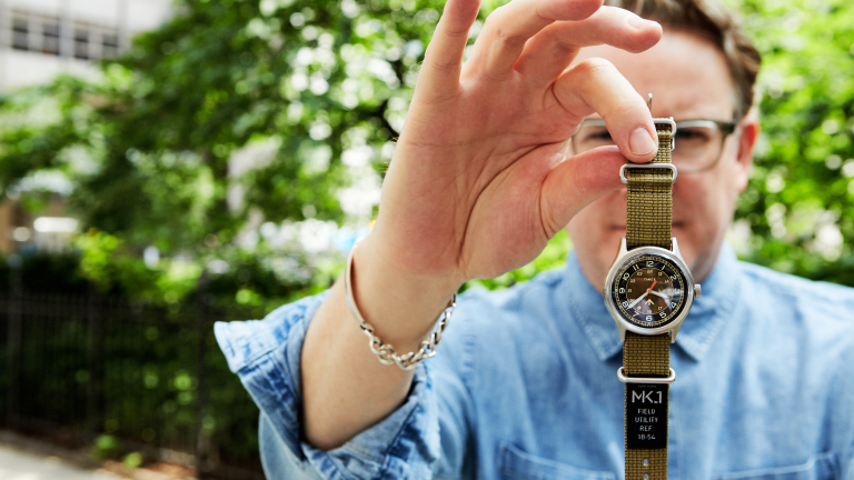 Todd Snyder x Timex Channel Vintage Military Style With New MK1 Bootcamp
