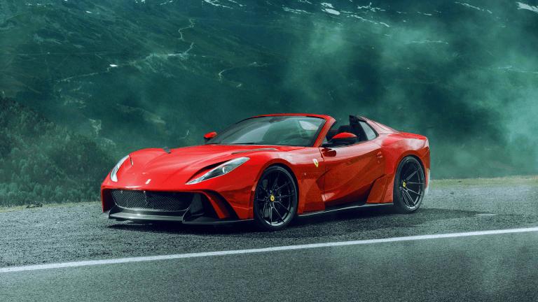 NOVITEC Gives the Ferrari 812 GTS a Menacing Remix