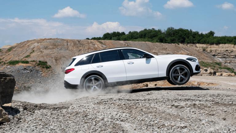 Mercedes-Benz Debuts Off-Road-Ready Wagon