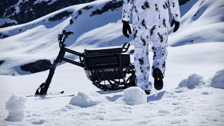 The Ultimate Electric Snowmobile Has Arrived