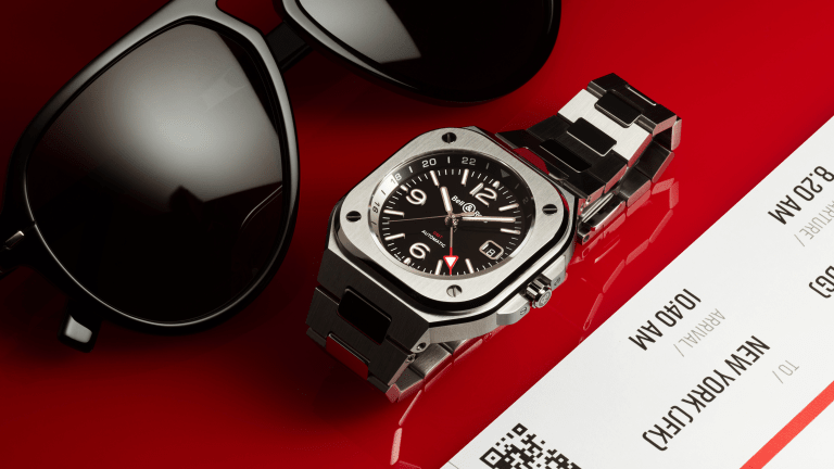 Bell & Ross Unveils a GMT Version of the BR 05
