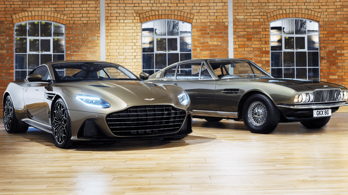 Aston Martin Honors James Bond With Limited Edition Dbs Superleggera Airows