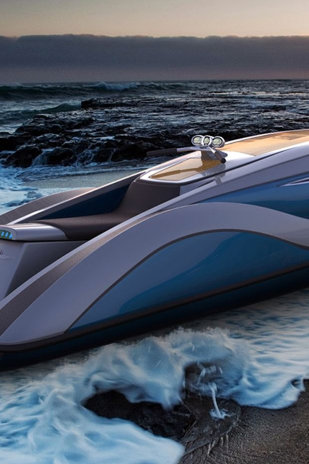 Personal watercraft ready to make a splash with billionaires