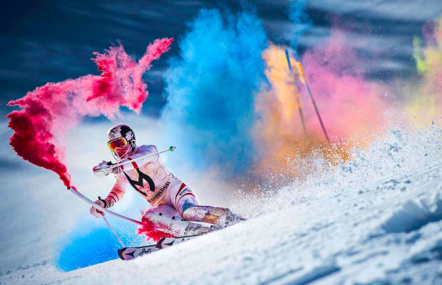 This Must-Watch Ski Video Is Loaded With Tons Of Vibrant Color
