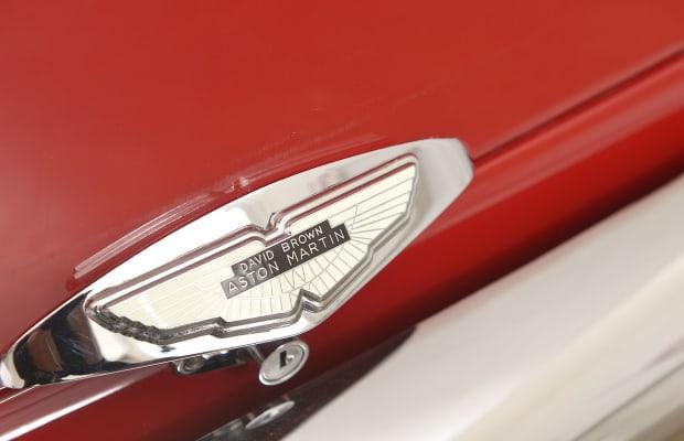 Car Porn: 1960 Aston Martin DB4 Series 1