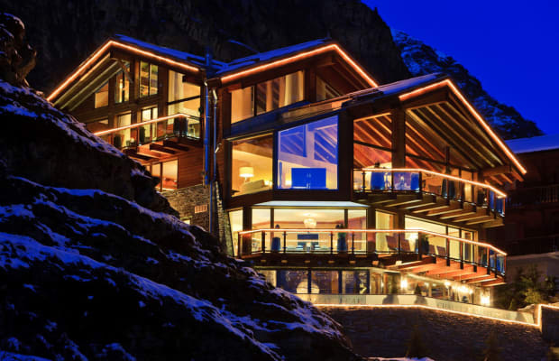 Inside The Coziest Of Snow-Clad Chalets