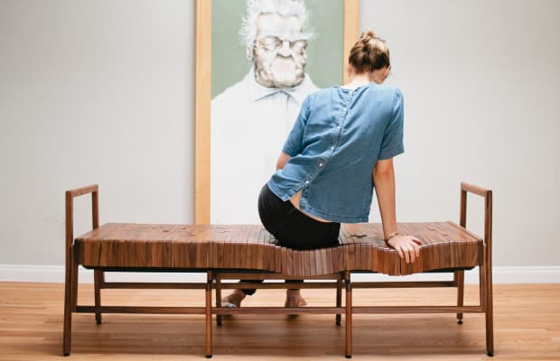 These Beautifully Designed Benches And Chairs Conform To Your Posture