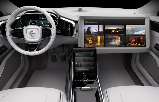 See Volvo's Impressive Self-Driving Car In Action