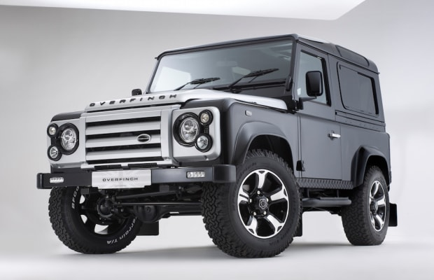 Incredible Custom Land Rover Defender By Overfinch