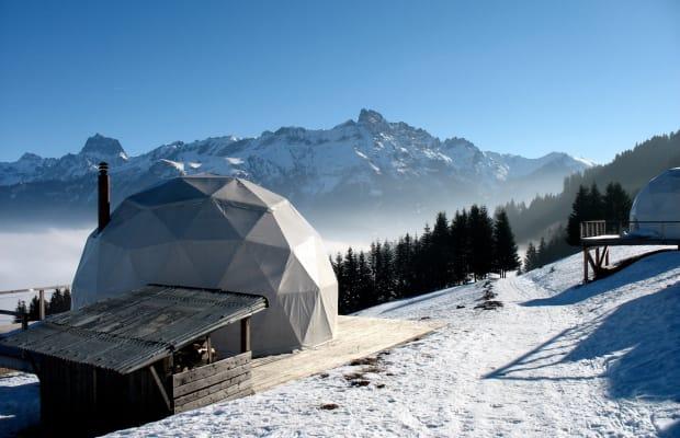 Amazing Eco-Luxury Hotel In Switzerland