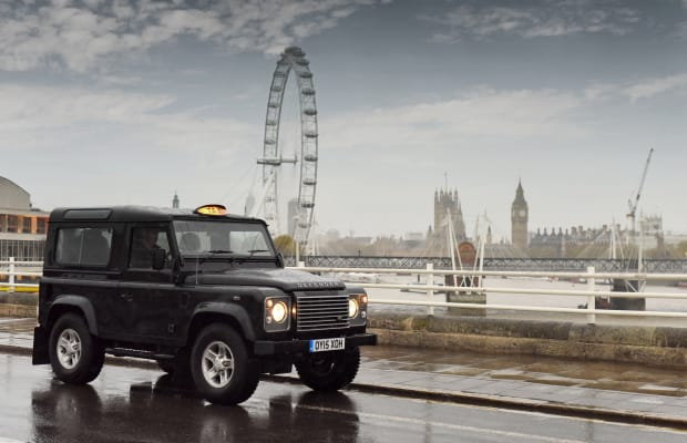 Watch The Land Rover Defender Take Over London