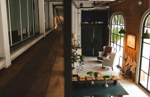 Inside A Beautifully Designed Coworking Space In Thailand