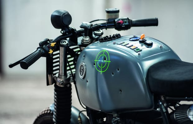 Cool 'Mad Max' Inspired Custom Motorcycle