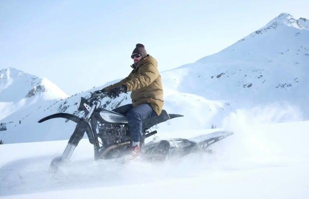 1979 Yamaha HL500 Turned Epic Snow Bike