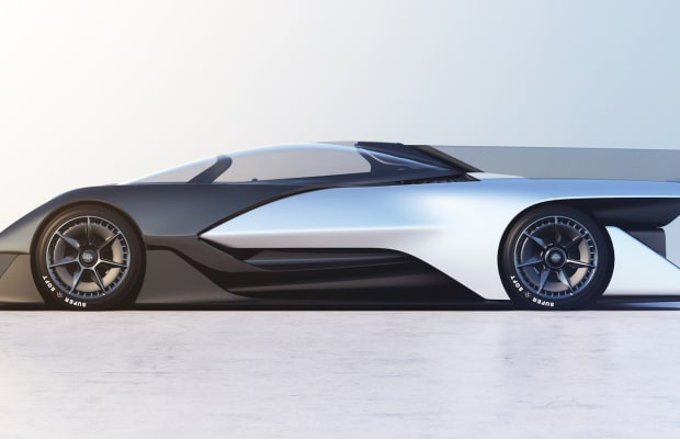 A California Start-Up Created A 1000-Horsepower Electric Batmobile