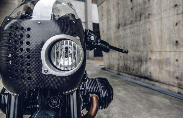 Batman's Custom BMW Motorcycle