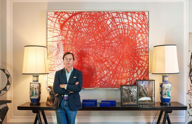 Inside Andy Spade's Eccentric Apartment