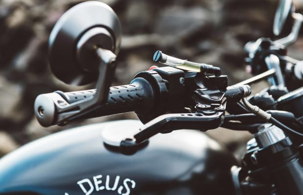 This Custom Blacked Out Scrambler Is Dripping In Cool