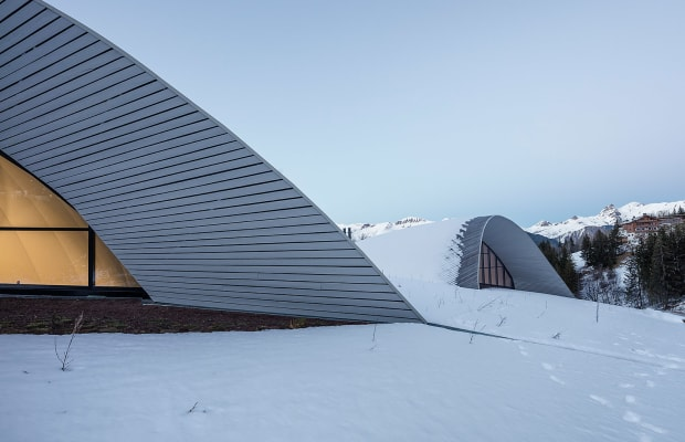 The World's Coolest Aquatic Centre Is In The Middle Of The French Alps