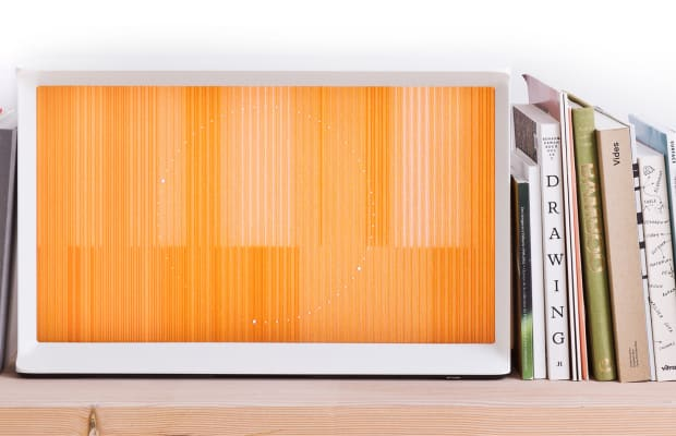 A Closer Look At The Very Stylish Samsung Serif TV