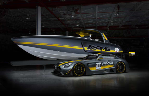 Mercedes AMG GT3 Reimagined As A Gorgeous Speedboat