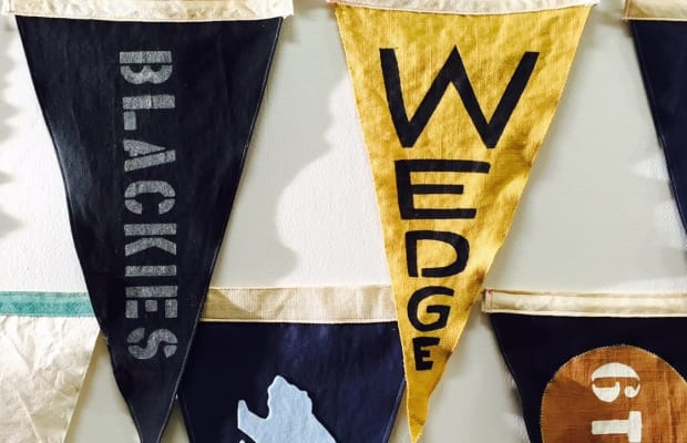 Handmade Salty Flags Pay Homage To California Surfing Heritage