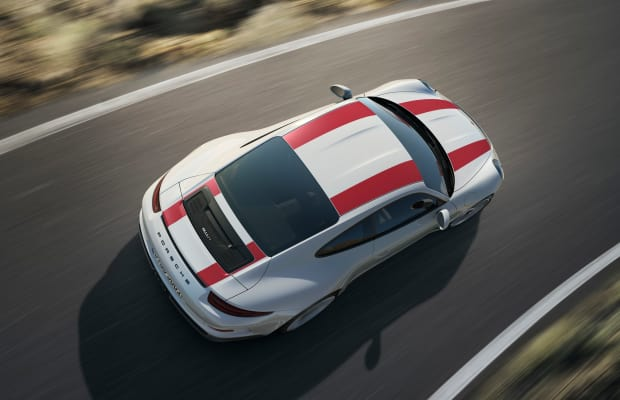 The Porsche 911 R Pays Homage To The Sports Car's Racing Heritage