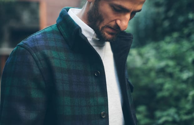 This Blackwatch Wool Jacket Is A Cheat Code To Look Effortlessly Cool