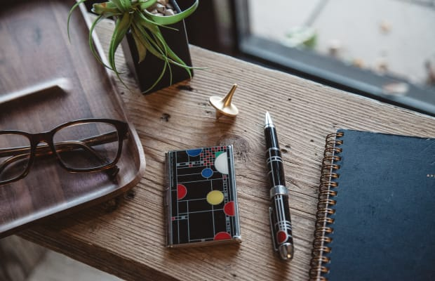 Equip Your Workspace With One Of These Frank Lloyd Wright Inspired Rollerball Pens