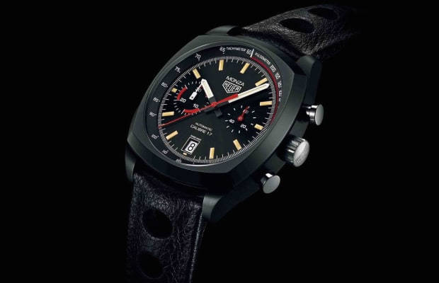 Tag Heuer Brought Back The Monza In All Of Its Glory