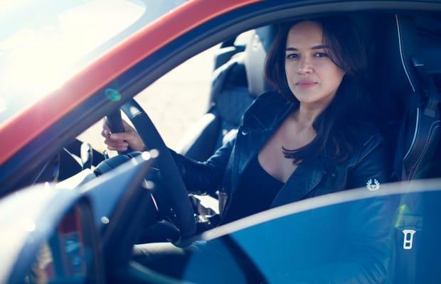 Watch Michelle Rodriguez Push The Jaguar F-TYPE SVR To The Limit