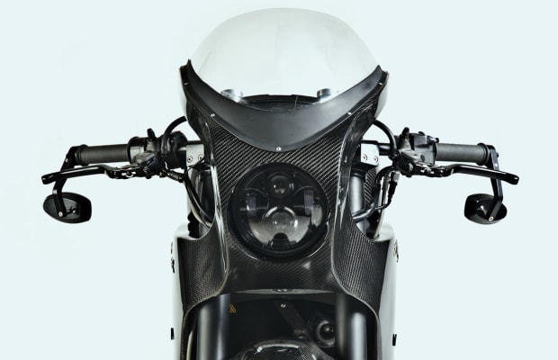 Batman's All Electric Motorcycle