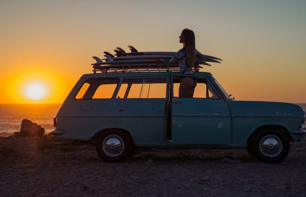 Does It Get Any Better Than This Opel Kadett 1000 Caravan Surfmobile?