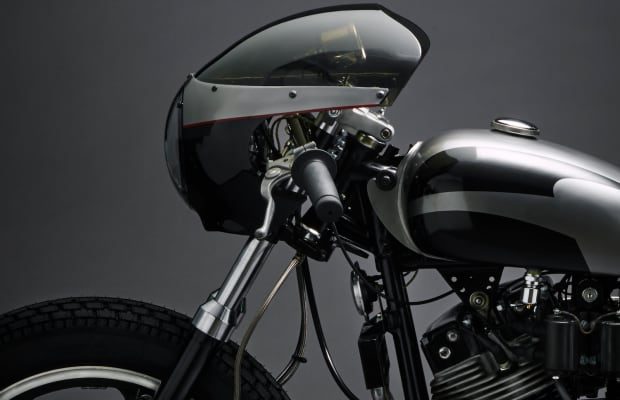 Jamesville Motorcycles' Custom Harley Café Racer Is Flat-Out Stunning