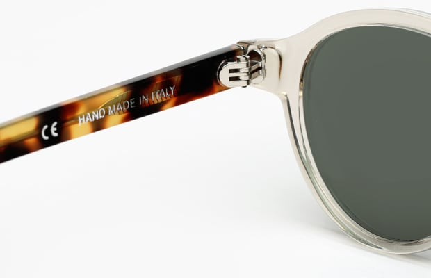 Get Summer Ready With These Sunglasses That Mix Transparent With Tortoise