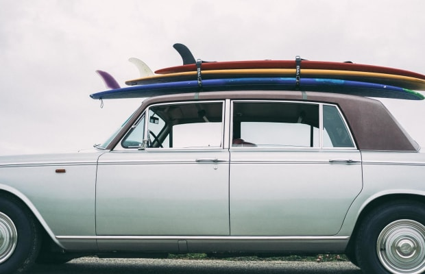 Is There Anything Cooler Than A Vintage Rolls Royce Surfmobile?