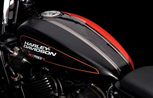 Harley Davidson's Modern Flat Track Motorcycle Is A Beaut